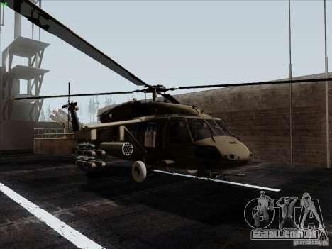 S-70 Battlehawk para GTA San Andreas