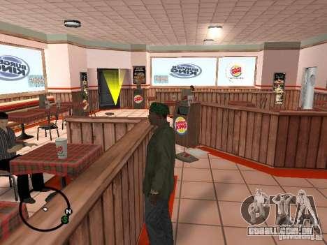 Novos restaurantes de texturas para GTA San Andreas segunda tela