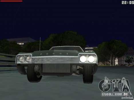 Dodge Monaco 1974 para GTA San Andreas vista direita