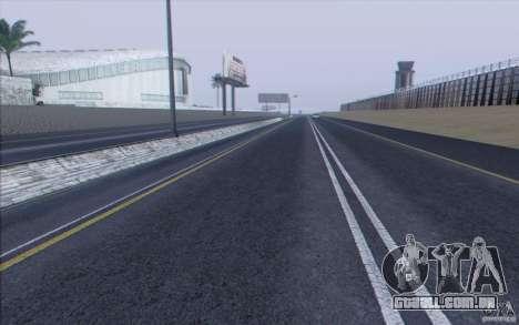 Estrada de HD v 3.0 para GTA San Andreas sétima tela