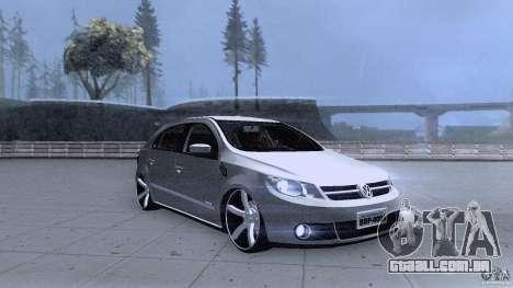 Volkswagen Golf G5 para GTA San Andreas vista traseira