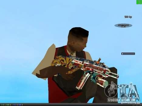 Graffiti Gun Pack para GTA San Andreas terceira tela