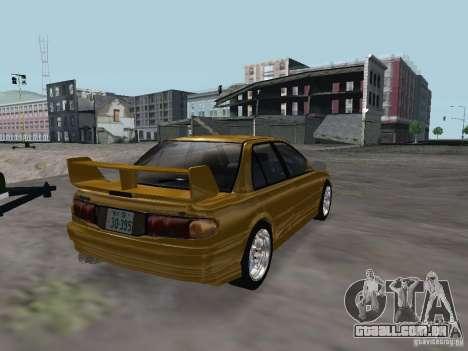 Mitsubishi Lancer Evolution III para GTA San Andreas vista direita
