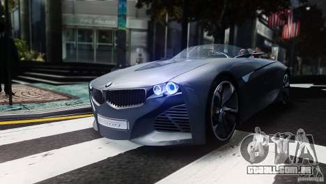 BMW Vision ConnectedDrive Concept 2011 para GTA 4