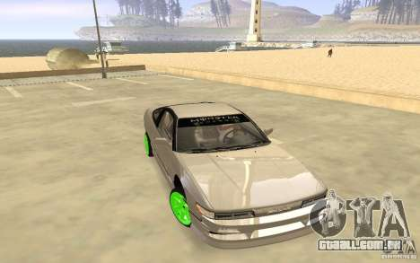 Nissan 200SX Monster Energy para GTA San Andreas esquerda vista