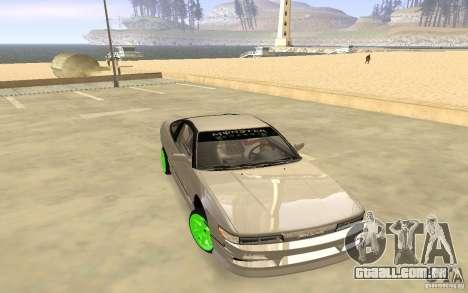 Nissan 200SX Monster Energy para GTA San Andreas esquerda vista