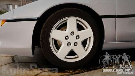 Toyota MR2 GT [EPM] para GTA 4 vista interior