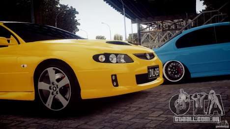 Holden Monaro para GTA 4 traseira esquerda vista
