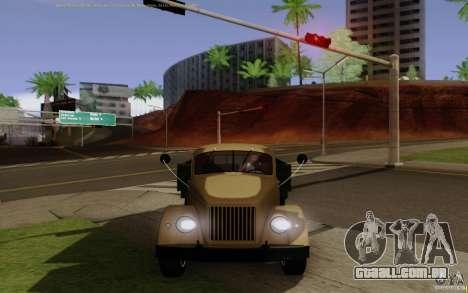 GAZ 51 para GTA San Andreas vista direita