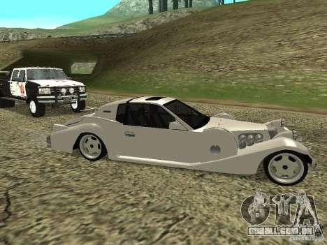 Mitsuoka Le-Seyde para GTA San Andreas vista direita