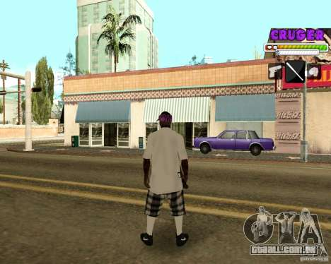 Ballas by R.Cruger para GTA San Andreas terceira tela