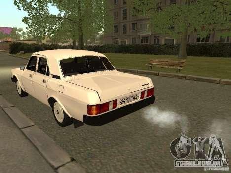 Volga GAZ 31013 para GTA San Andreas vista direita