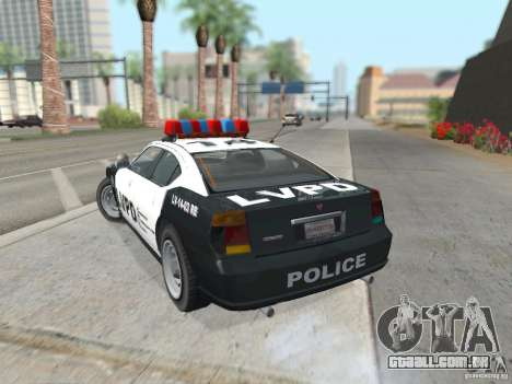 GTA 4 TBoGT de Buffalo para GTA San Andreas vista direita