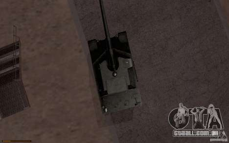 Bat. Chat. 155 SPG para GTA San Andreas traseira esquerda vista