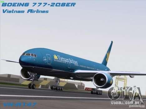 Boeing 777-2Q8ER Vietnam Airlines para GTA San Andreas
