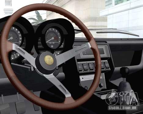 Alfa Romeo Montreal 1970 para vista lateral GTA San Andreas