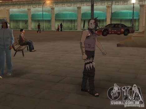 Skin Pack From Naruto para GTA San Andreas segunda tela