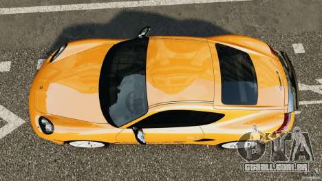 Porsche Cayman R 2012 [RIV] para GTA 4 vista direita