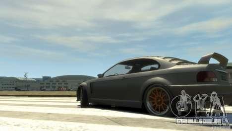 Sentinel Grand Sport para GTA 4 esquerda vista