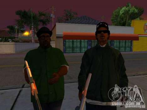 Grove Street Forever para GTA San Andreas quinto tela