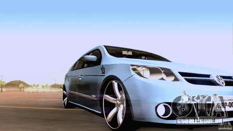 Volkswagen Golf G5 para GTA San Andreas esquerda vista