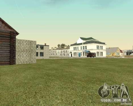 Novo campo de distrito dos sonhos para GTA San Andreas por diante tela