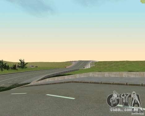 Terminou a construção da estrada para a Rússia d para GTA San Andreas