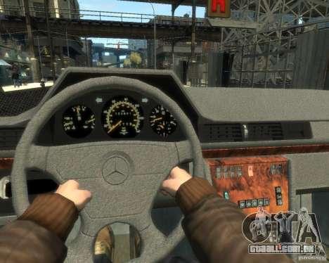 Mercedes-Benz C220 W202 para GTA 4 vista direita
