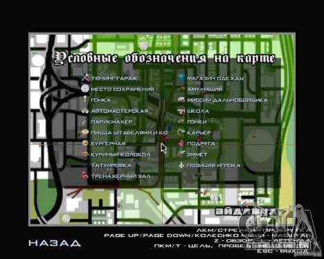 Novo HUD para GTA San Andreas por diante tela