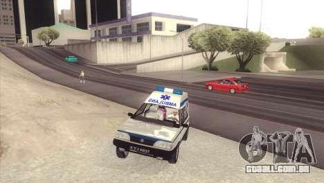 FSO Polonez Cargo MR94 Ambulance para GTA San Andreas