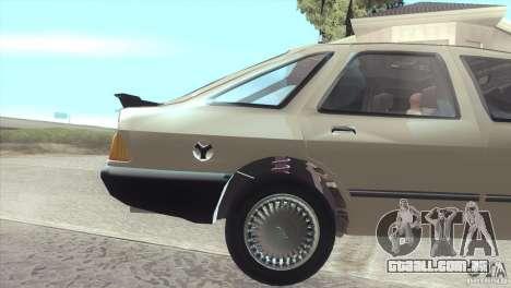 Ford Sierra para GTA San Andreas vista direita