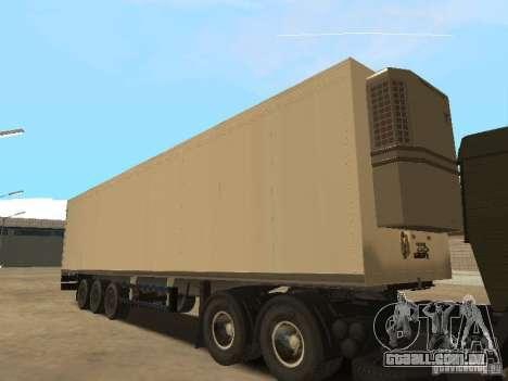 Nefaz 93344 trailer para GTA San Andreas vista direita