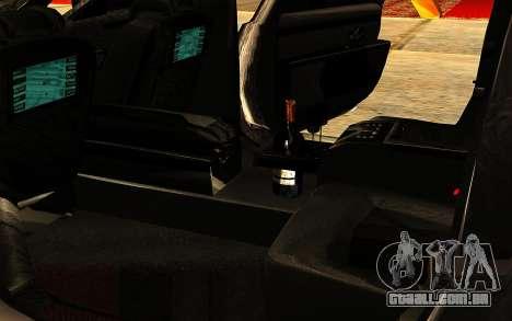 Maybach 62 para GTA San Andreas interior