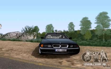BMW 730i E38 para GTA San Andreas esquerda vista