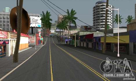 Real HQ Roads para GTA San Andreas oitavo tela