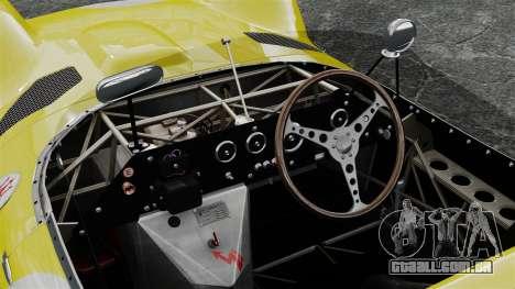 Maserati Tipo 60 Birdcage para GTA 4 vista de volta
