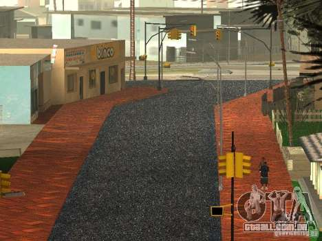 A nova Grove Street para GTA San Andreas quinto tela