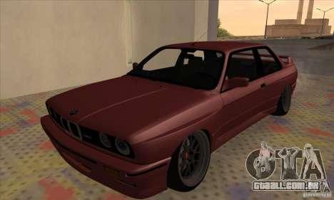 BMW M3 E30 1990 para GTA San Andreas