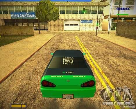 Pak vinis para Elegy para as rodas de GTA San Andreas