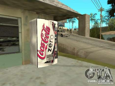 Novas máquinas para GTA San Andreas quinto tela