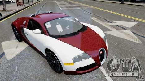 Bugatti Veyron 16.4 v1.0 wheel 1 para GTA 4 traseira esquerda vista