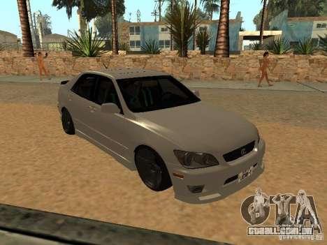 Lexus IS300 JDM para GTA San Andreas
