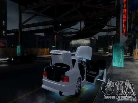 Toyota Chaser 100 TourerV para GTA 4 interior