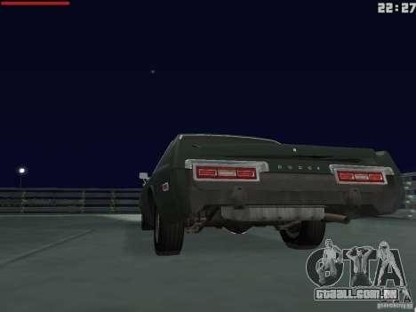 Dodge Monaco 1974 para GTA San Andreas vista traseira