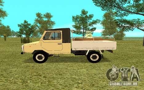 LuAZ 13021 para GTA San Andreas esquerda vista
