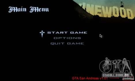 Patch para GTA San Andres Steam V 3.00 para GTA San Andreas segunda tela
