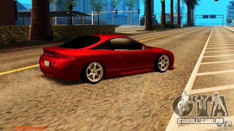 Mitsubishi Eclipse 1998 para GTA San Andreas vista direita