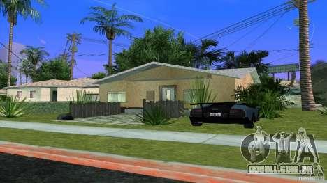 Novas texturas casa em Los Santos Denis para GTA San Andreas
