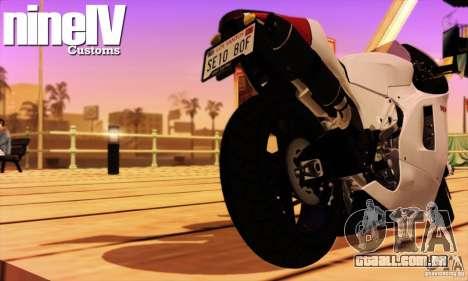 Ducati Desmosedici RR 2012 para GTA San Andreas vista direita