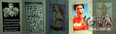 Novos posters no segundo apartamento para GTA 4